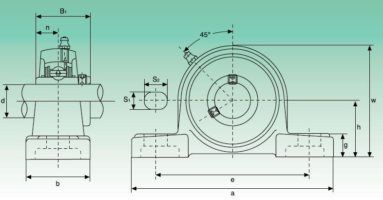 Dimensiones soportes UCP ISB