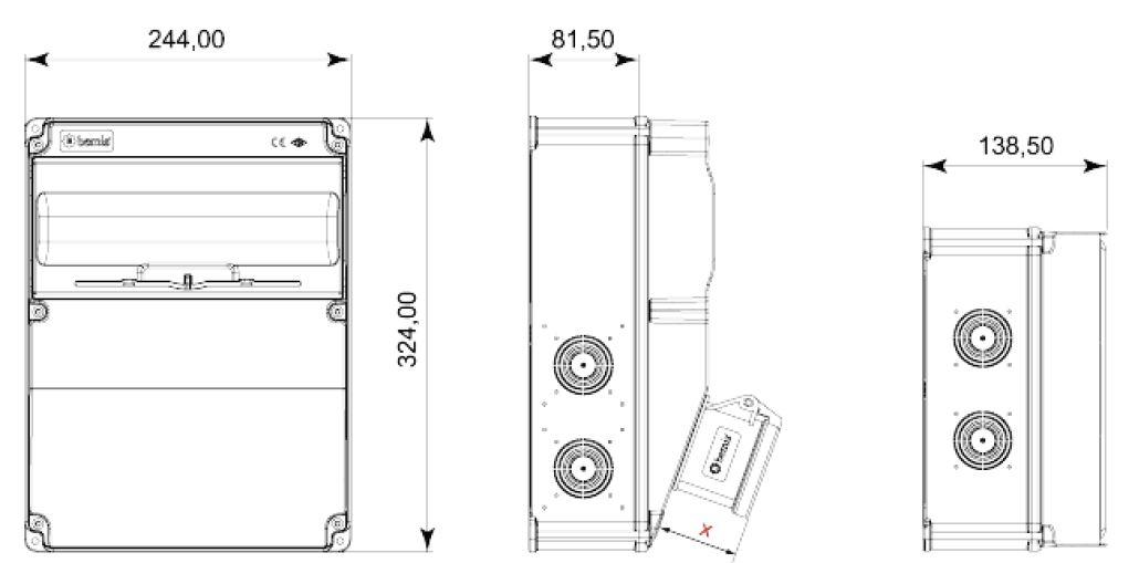 Dimensiones BH6-2118-2020