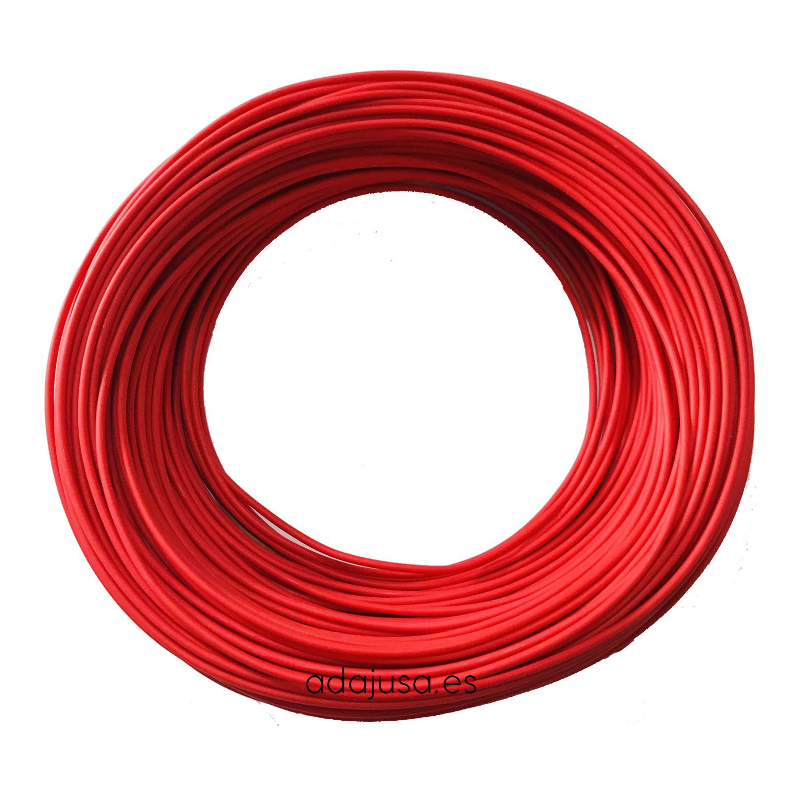 Bobina de cable el/éctrico r/ígido de 100 m y 1,5 mm/² en azul