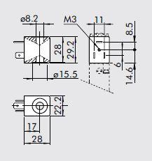 Dimensiones de bobinas para valvulas neumaticas