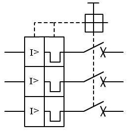 Esquema electrico magnetotermico 3 polos