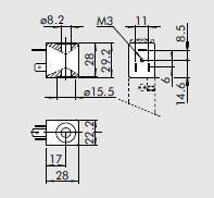 dimensiones bobinas electrovalvula
