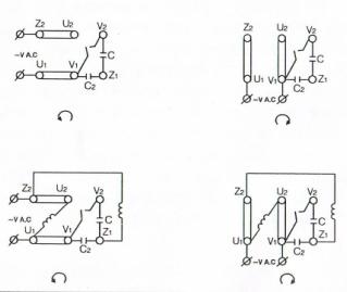 esquema conexionado motor alto par arranque