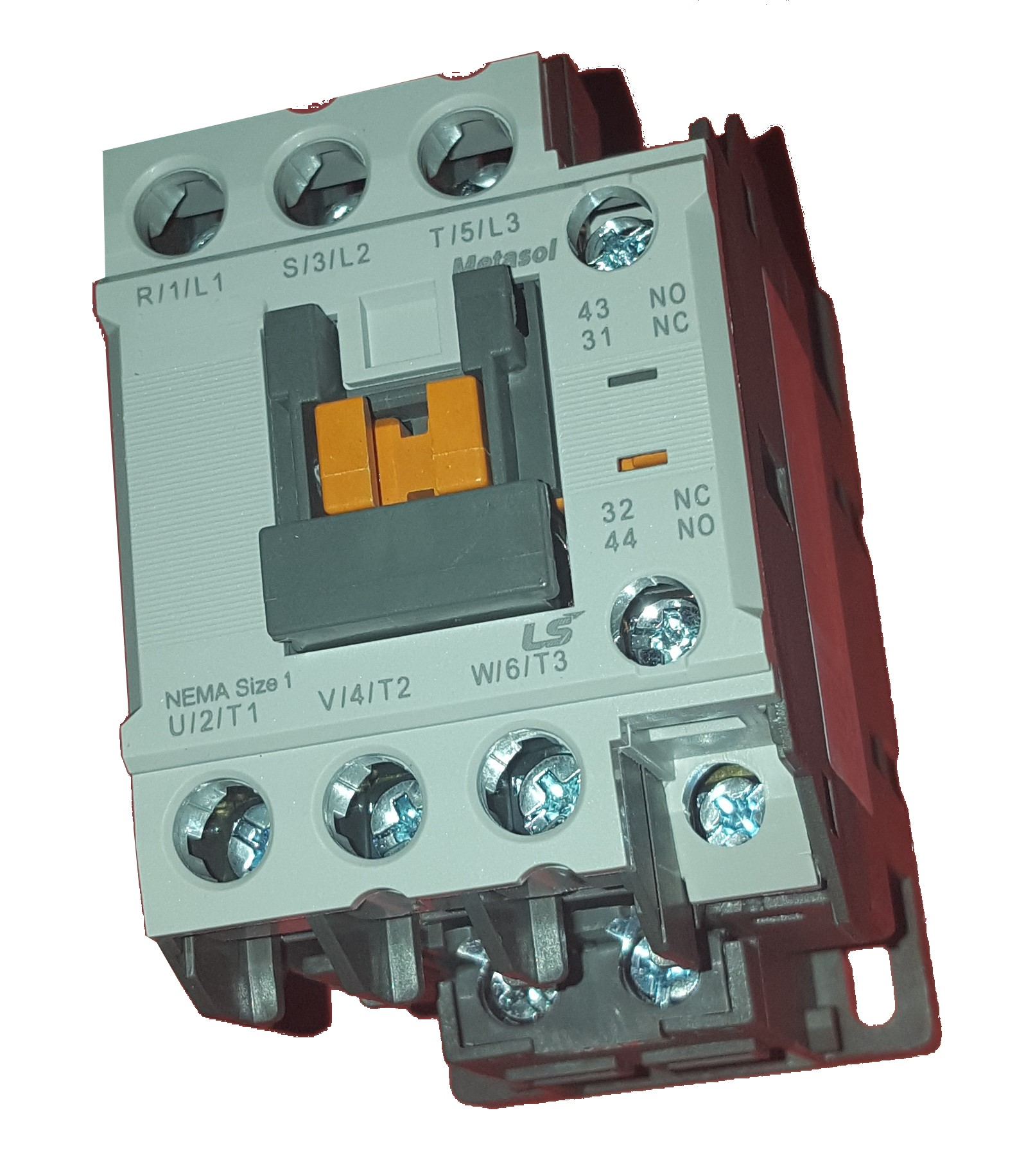 Contactor trifásico 9A bobina 230Vac - LSis